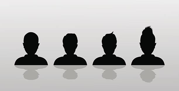"""vektor-avatar, profil """"symbol, kopf silhouette - einzelnes tier stock-grafiken, -clipart, -cartoons und -symbole"""