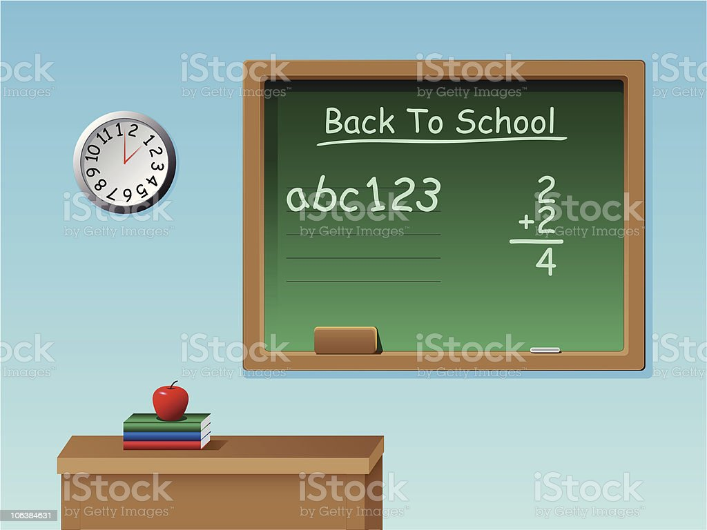 Vector Back To School royalty-free stock vector art