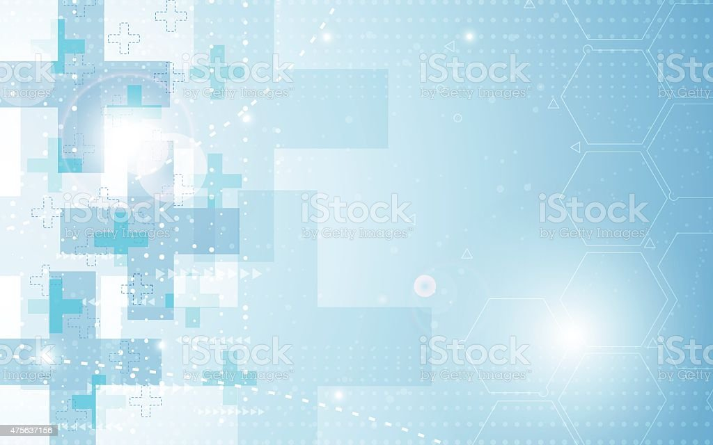 vector background abstract health care concept vector art illustration