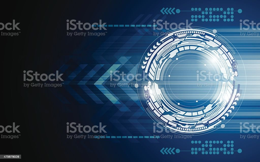 vector background abstract technology innovation movement concept vector art illustration