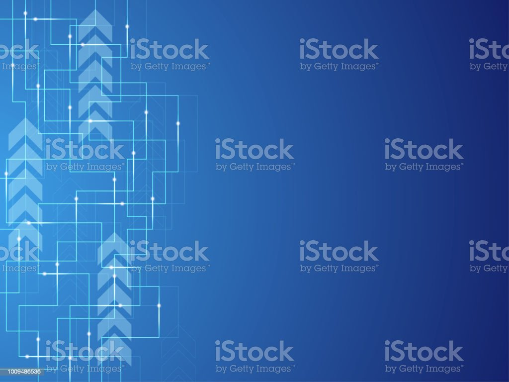 Vector Background Electronic Circuits Design Stock Art More Royalty Free
