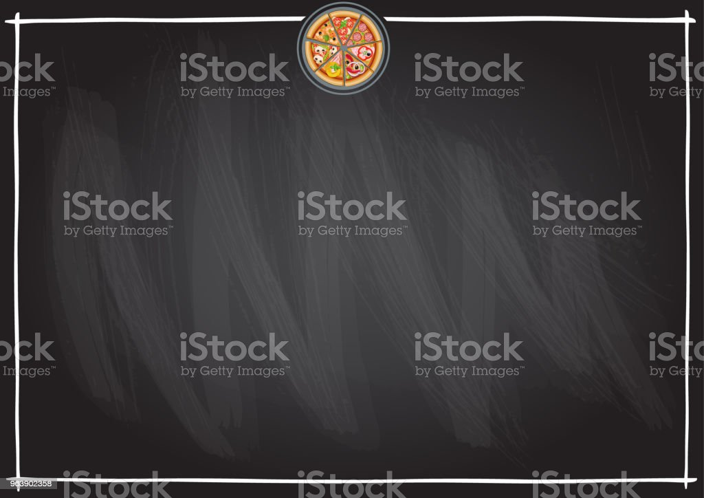 Vector background for menu fast food bar, snack bar, pizzeria, café, restaurant, coffee house. Vector. Size A3. - Royalty-free Bar - Drink Establishment stock vector