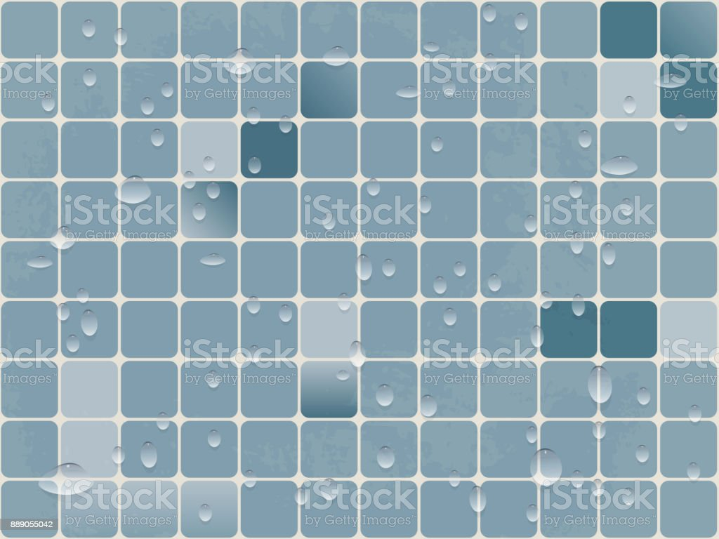 Vector Background Image Tiles Of Small Squares With Rounded Corners ...