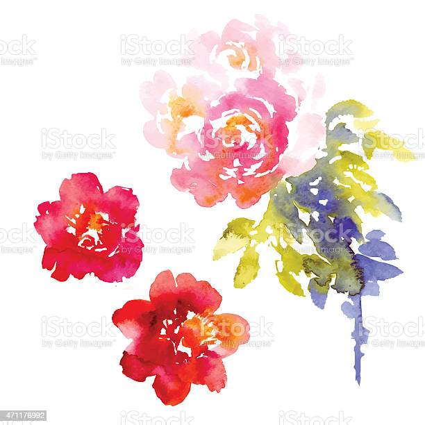 Vector background of pink and purple flowers in watercolor vector id471176992?b=1&k=6&m=471176992&s=612x612&h=fxivp7xx0mlahl9iaoff4ftr2pltr2crw2v6lm insk=