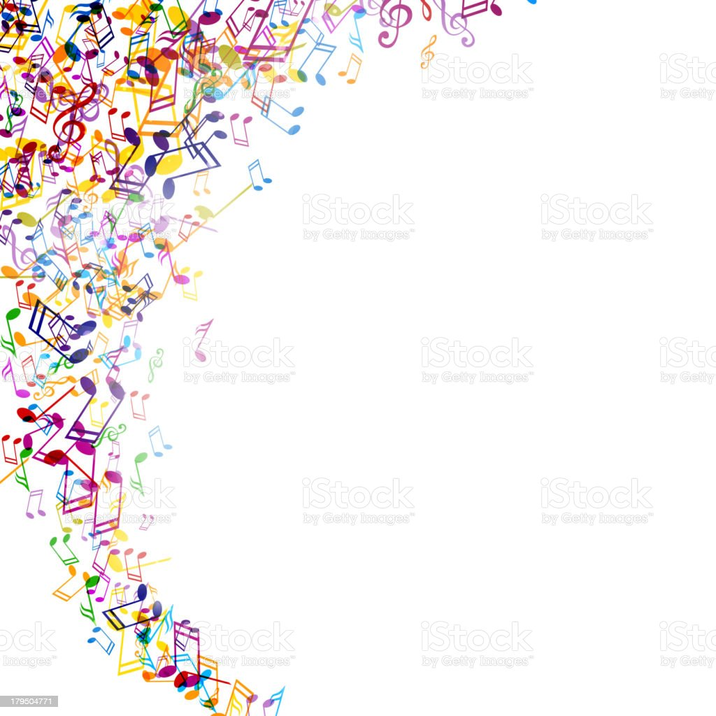 Vector background with colorful music notes stock vector art more vector background with colorful music notes royalty free vector background with colorful music notes stock voltagebd Image collections