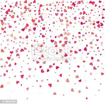 Vektorhintergrund Mit Herzen Rotes Herz Rahmen Für Ihren Text ...