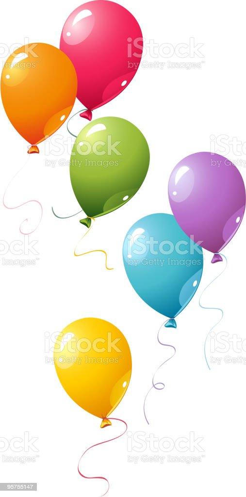 Vector balloons royalty-free stock vector art