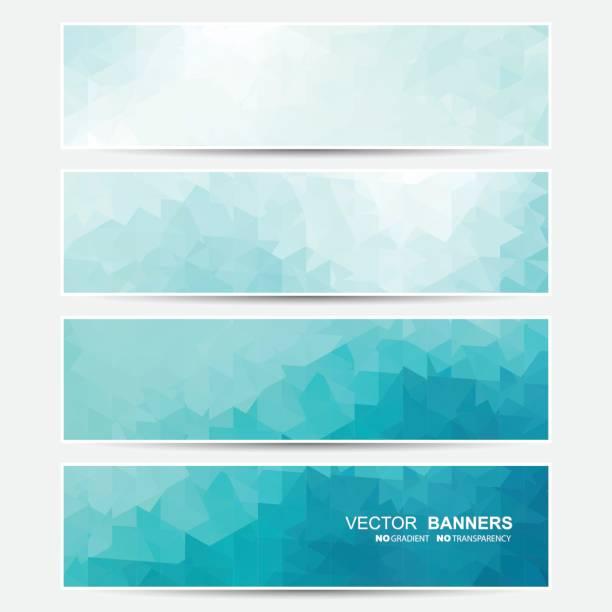 Conjunto de Vector banners. - ilustración de arte vectorial