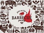 istock Vector barbecue party invitation 854681906