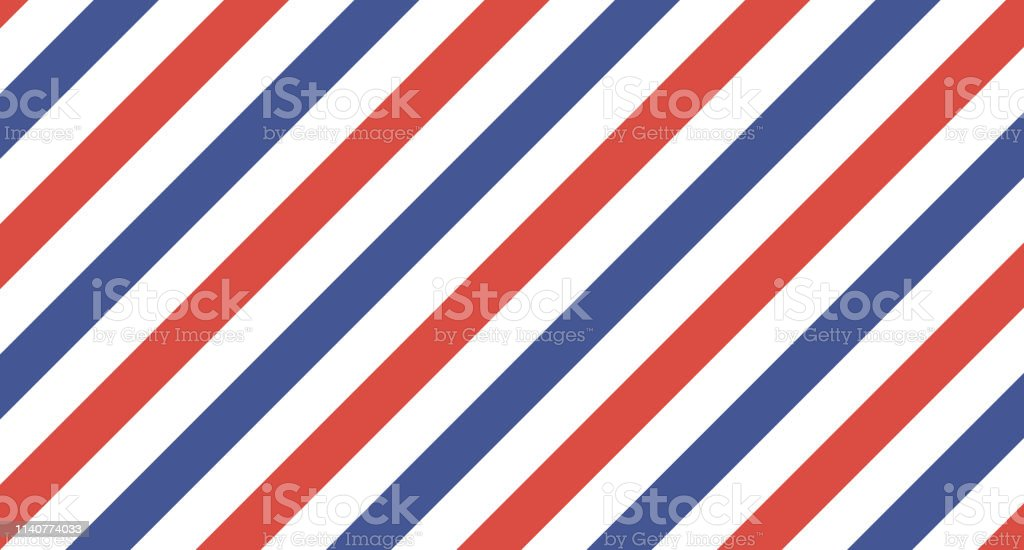 Vector Barber Pole Wallpaper Background Stock Illustration