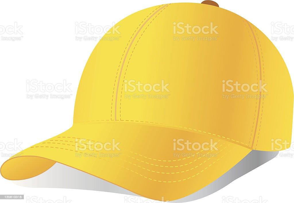 Vector baseball cap royalty-free stock vector art