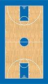 Vector Basketball Court