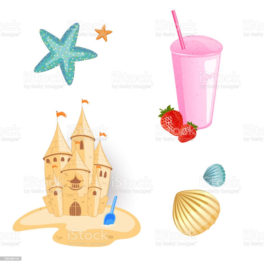 Vector Beach Elements royalty-free vector beach elements stock vector art & more images of beach