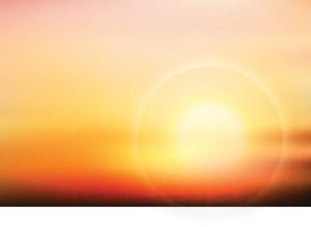 illustrazioni stock, clip art, cartoni animati e icone di tendenza di vector beautiful twilight - flare