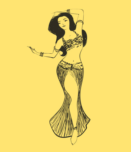 Royalty Free Belly Dancing Clip Art Vector Images Illustrations