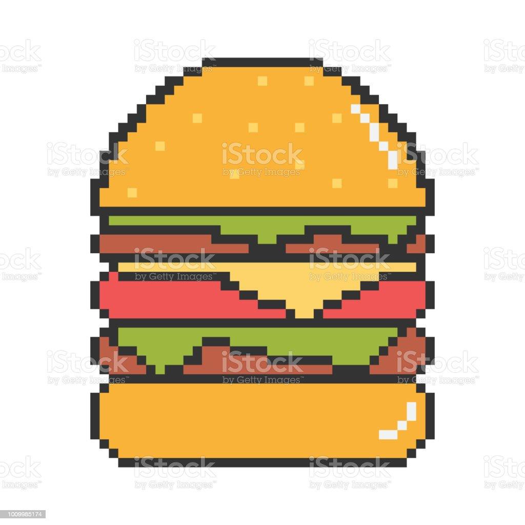 ベクトルの最高のハンバーガーのイラスト ベクターアートイラスト