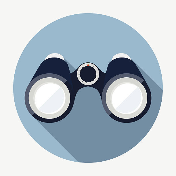 binoculars icon vector - photo #12