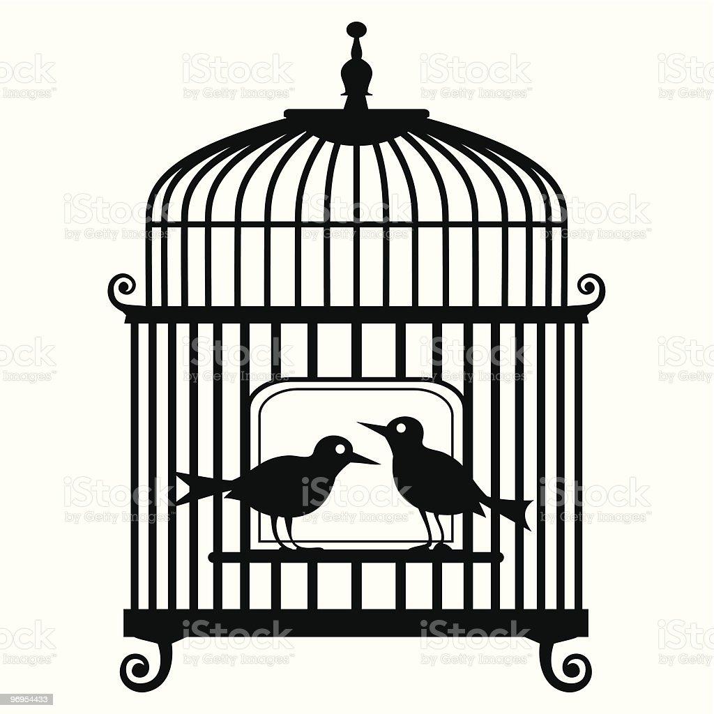 Vector birdcage royalty-free vector birdcage stock vector art & more images of animal