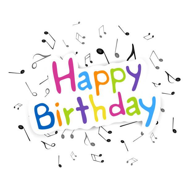 Best Original Happy Birthday Song Illustrations, Royalty