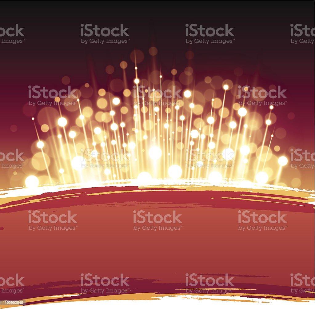 Vector birthday party invite royalty-free stock vector art