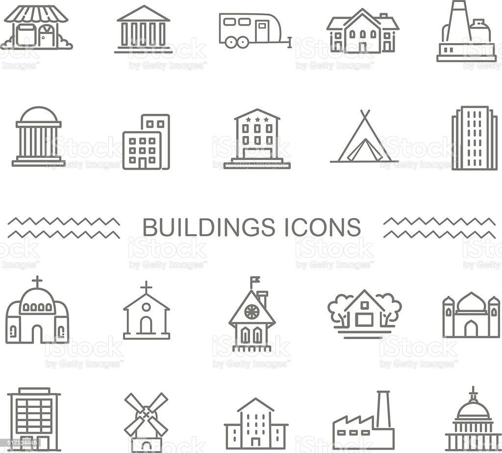 ベクトル-白黒政府の建物のアイコンを設定します。 ロイヤリティフリーベクトル白黒政府の建物のアイコンを設定します - アイコンセットのベクターアート素材や画像を多数ご用意