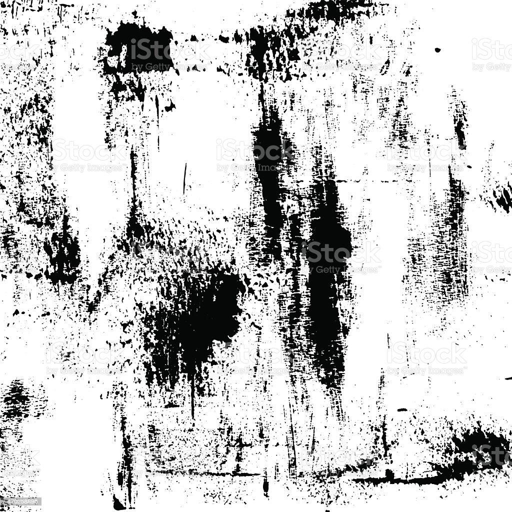 Vector black and white grunge texture vector art illustration