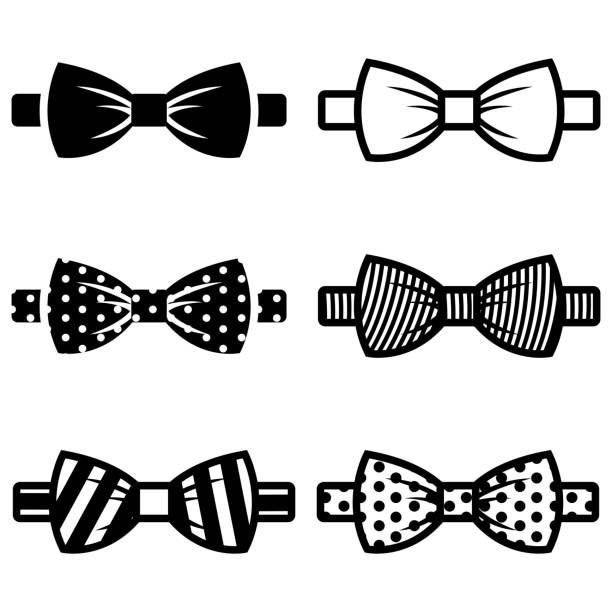 Royalty free bow tie clip art vector images illustrations istock vector black bow ties icons set vector art illustration voltagebd Choice Image