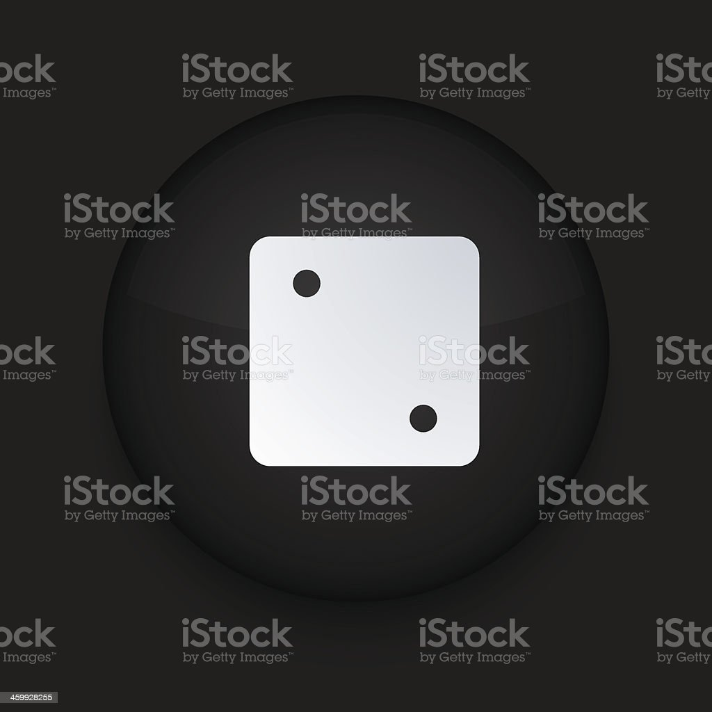 Vector black circle icon. Eps10 royalty-free stock vector art