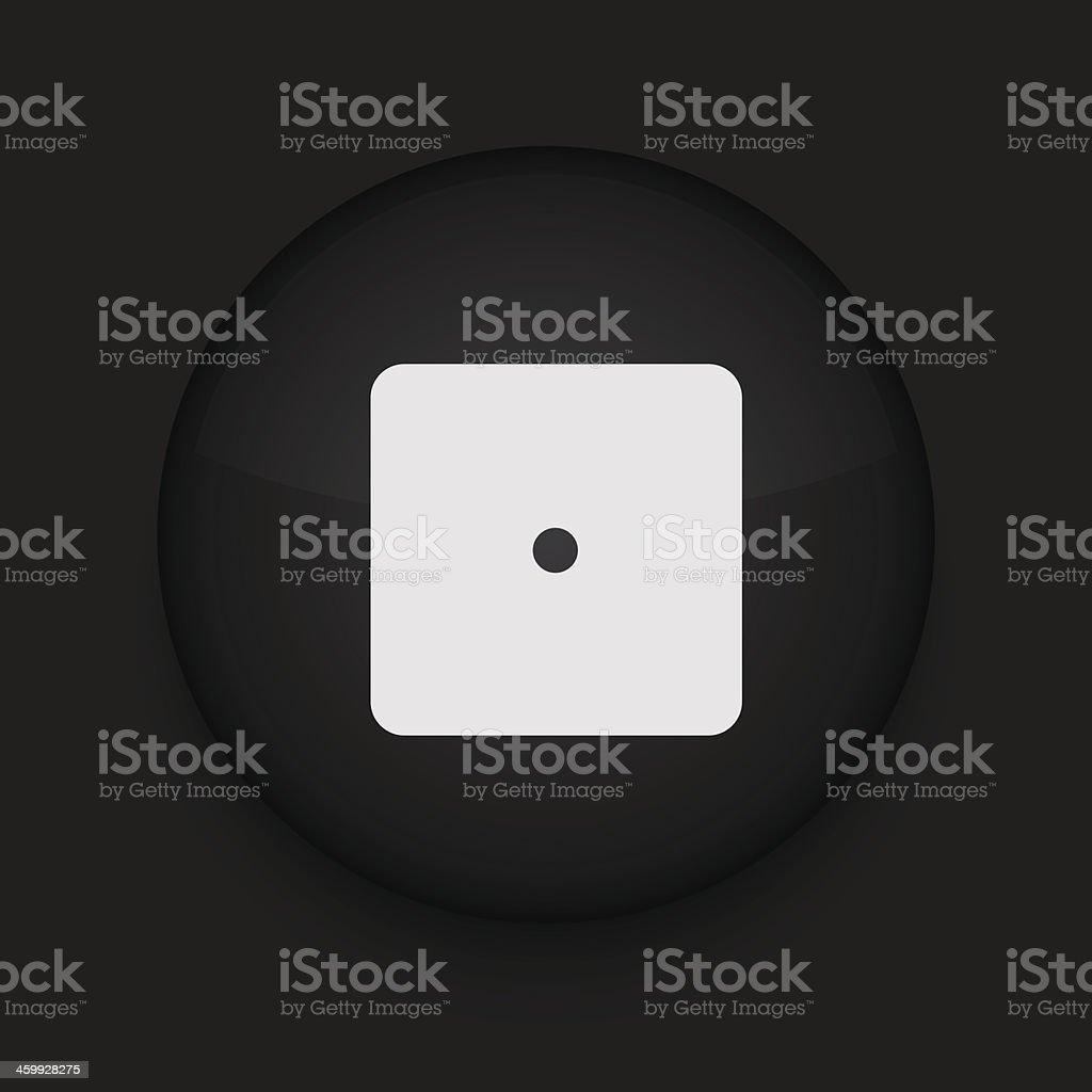 Vector black circle icon. Eps10 royalty-free vector black circle icon eps10 stock vector art & more images of abstract