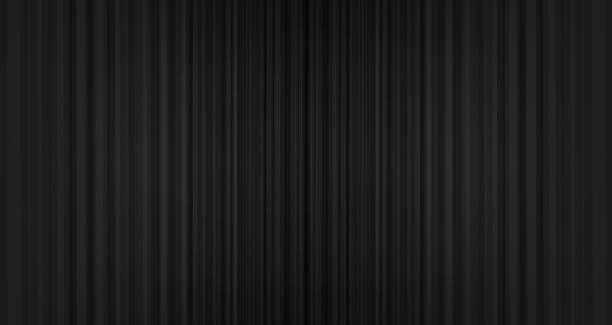 stockillustraties, clipart, cartoons en iconen met vector zwarte gordijn achtergrond, moderne stye. - gordijn