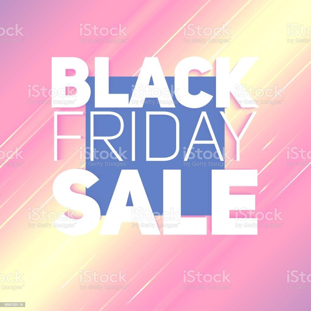 5045b1c29 De fundo Vector preto venda de sexta-feira com brilhante raio de energia.  Ilustração
