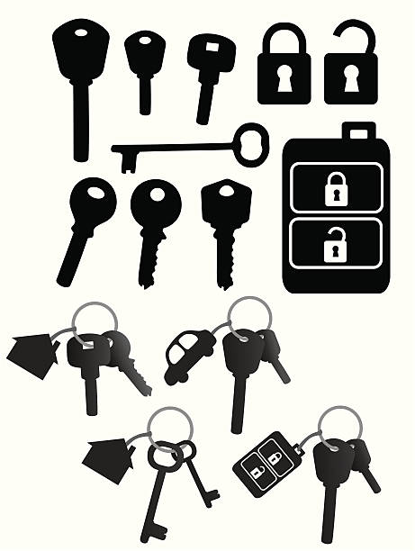 Key-Set – Vektorgrafik