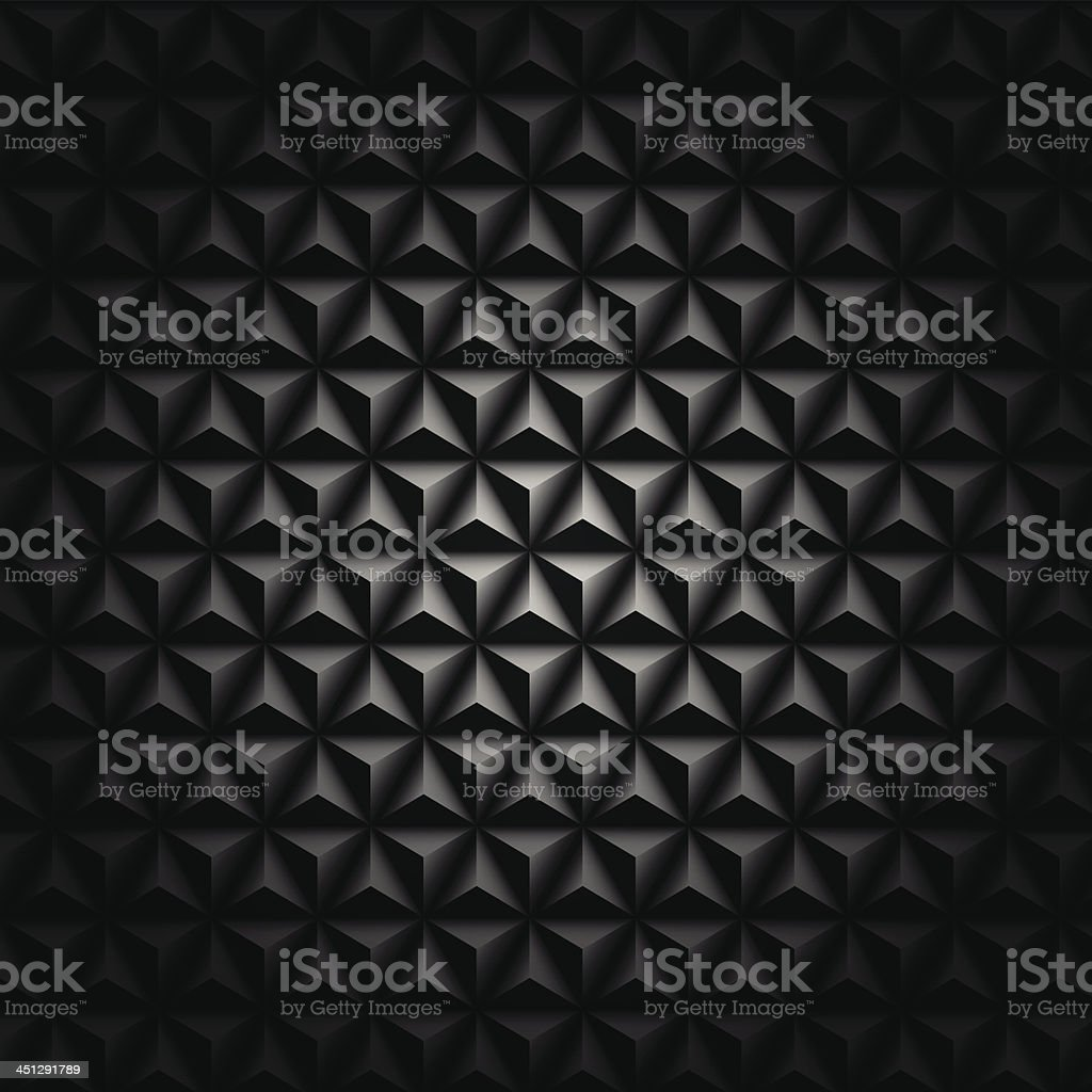 Vector black mosaic background royalty-free stock vector art