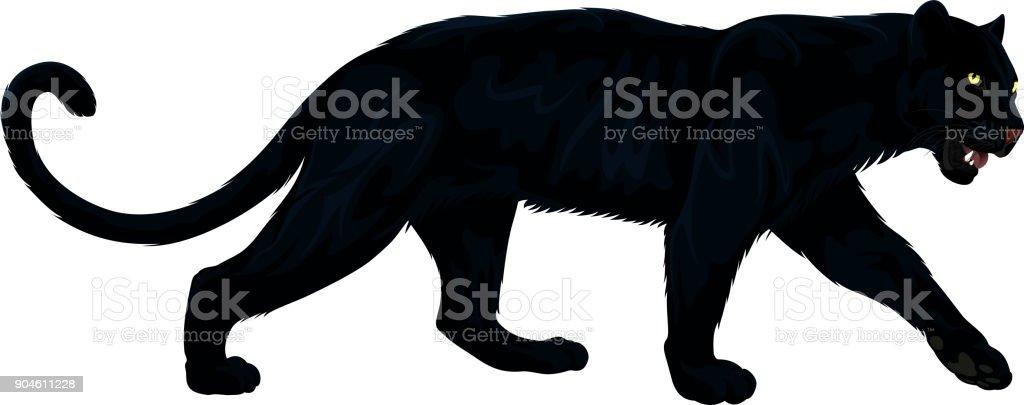 royalty free black leopard clip art vector images illustrations rh istockphoto com
