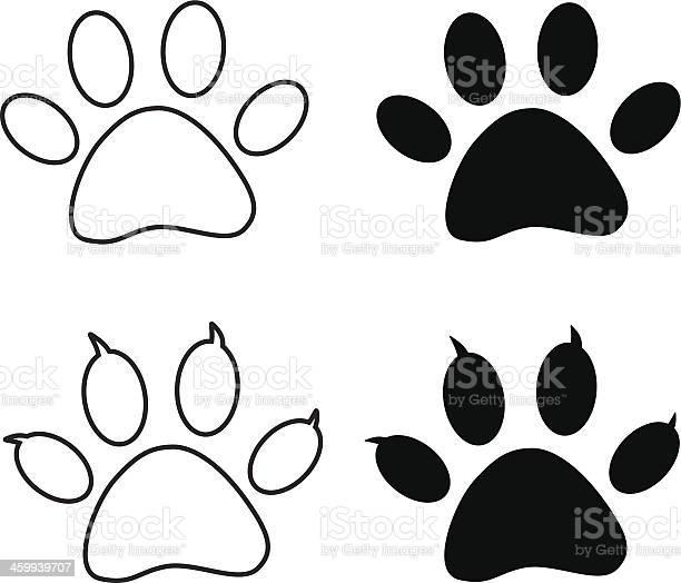 Vector black paw print vector id459939707?b=1&k=6&m=459939707&s=612x612&h=rmvp1hmalykm2o14alpd94uwltn1flgezw8msvs5his=