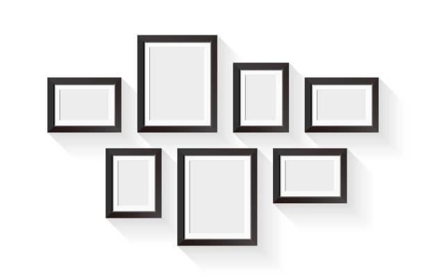 Picture frame border stock illustrations