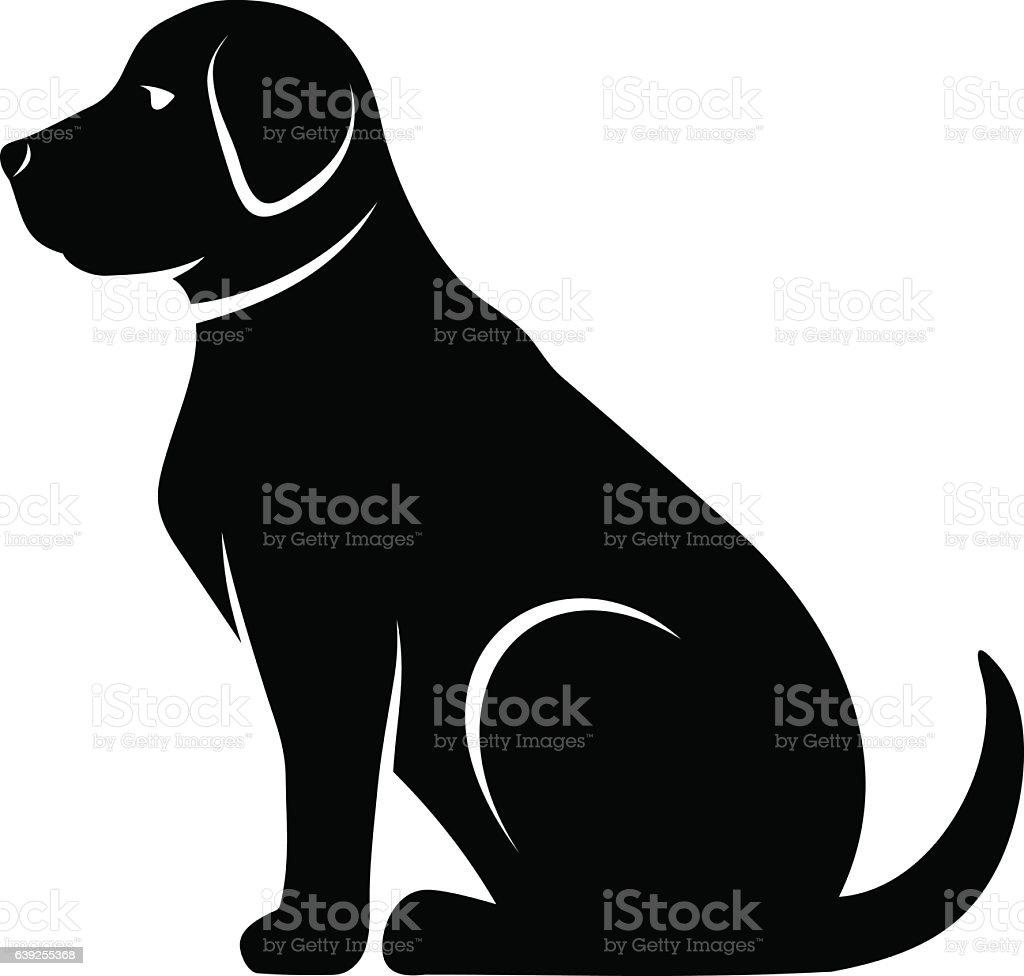 royalty free labrador retriever clip art vector images rh istockphoto com labrador retriever free clip art labrador retriever clip art