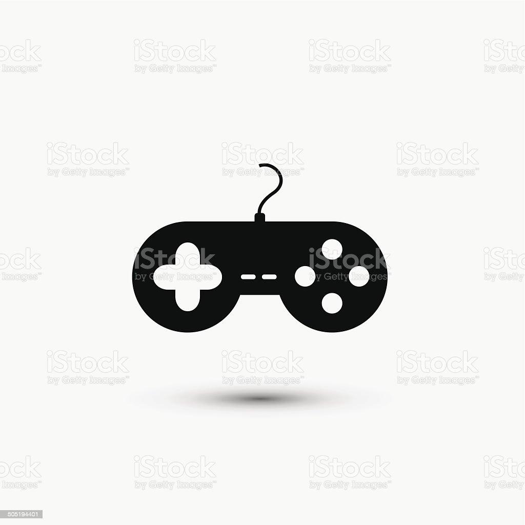 Vector black web icon on white background. Eps10 vector art illustration