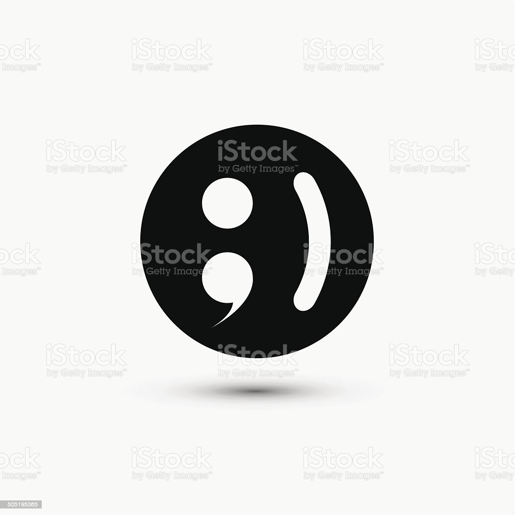 Vector Black Web Icon On White Background Eps10 Stock