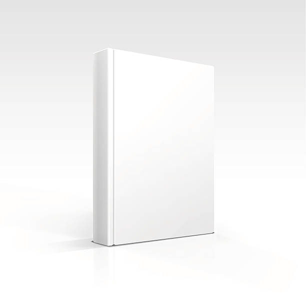 Vector Blank Book Vector Blank Book hardcover book stock illustrations