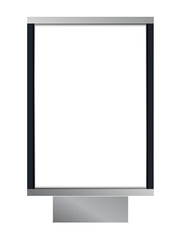 Vector Blank Citylight Lightbox Stock Illustration - Download Image Now
