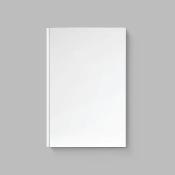 Blank Book Cover Drawing : Blank book cover white clip art vector images