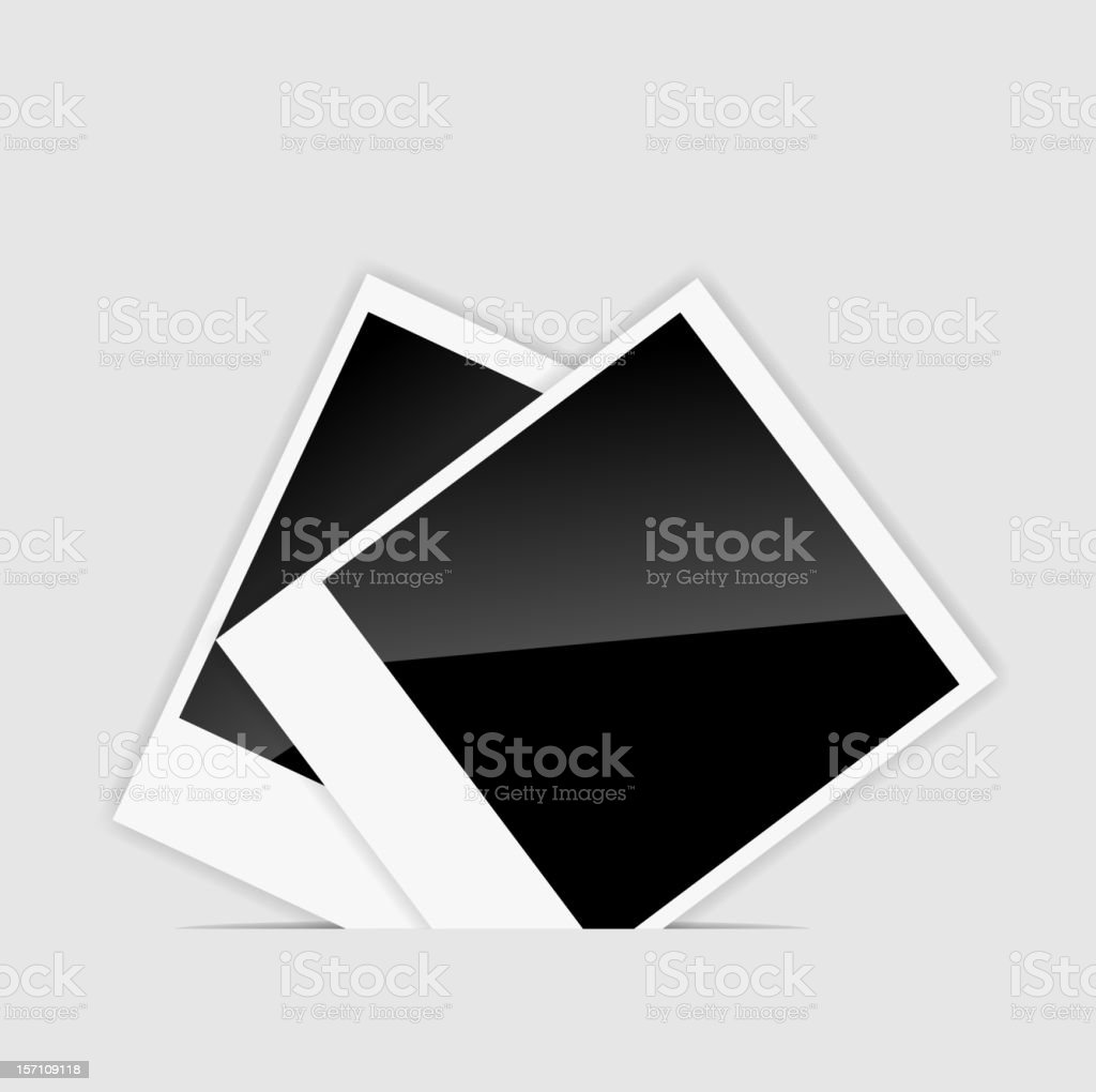 Vector blank  Instant photos llustration royalty-free vector blank instant photos llustration stock vector art & more images of activity