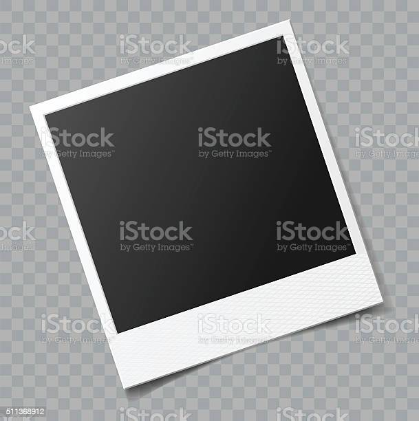 Vektor Leere Bilderrahmen Mit Transparente Schatteneffekt Stock Vektor Art und mehr Bilder von Alt