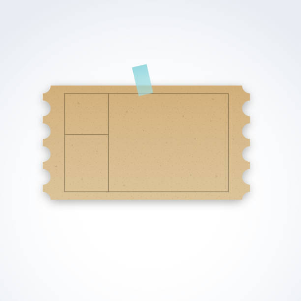 royalty free perforated paper clip art vector images