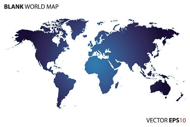 Royalty free world map blank clip art vector images illustrations vector blank world map vector art illustration gumiabroncs Gallery