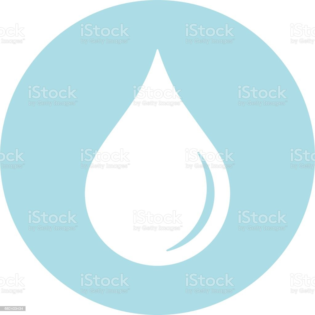 Vector Blood Droplet Within A Circle Icon royalty-free vector blood droplet within a circle icon stock vector art & more images of blood