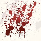 vector blood stains background