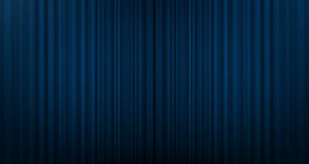 vektor blauen vorhang hintergrund mit bühne, licht, modernen stil. - plüschmuster stock-grafiken, -clipart, -cartoons und -symbole