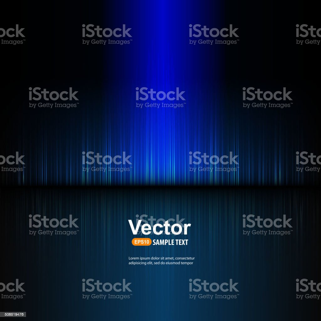 Vector blue equalizer vector art illustration